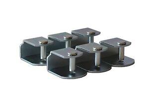 Pack 6 abrazaderas de metal en medida 30x30