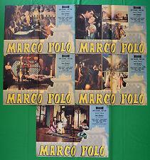 G67 LOTTO FOTOBUSTE MARCO POLO PIERRE CRESSOY RORY CALHOUN YOKO TANI HUGO FREGOL