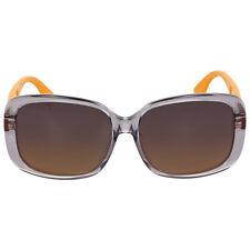 Fendi Oversize Grey Ochre Sunglasses