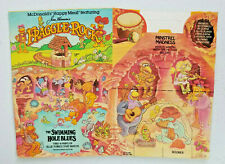 1987 McDonalds Happy Meal Kid Box Fraggle Rock Swimming Hole Blues New Old Stock