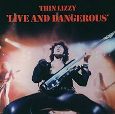 Thin Lizzy Live and Dangerous Remasterisé 17 Piste Album CD Vertigo