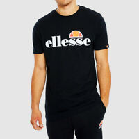 ELLESSE - T Shirt Maglia Casual Uomo Mezza Manica Manica Corta Uomo Di Cotone