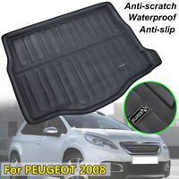 Fit For Peugeot 2008 2013-2018 Boot Mat Rear Trunk Liner Cargo Tray Floor Carpet
