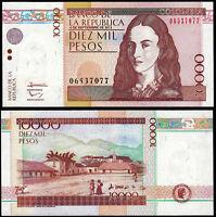 COLOMBIA 10000 PESOS (P453p) 2013 UNC