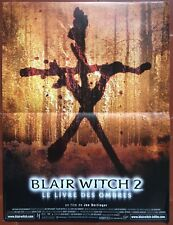 Affiche BLAIR WITCH 2 Le Livre des ombres JOE BERLINGER Jeffrey Donovan 40x60cm*