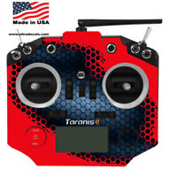 Red Honeycomb Taranis Q X7 X7S Radio Skin Wrap Transmitter QX7 Ultradecals