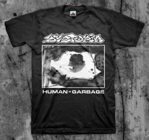 DYSTOPIA 'Human' T Shirt Doom Asunder Crust
