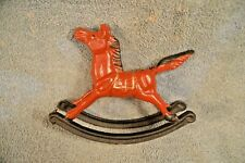 Cast Iron Rocking Horse made by Artmark