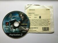 USED Resident Evil 4 DISC ONLY PlayStation 2 PS2 Tested Shooter M Video Game