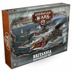 Dystopian Wars Britannia Battlefleet NIB