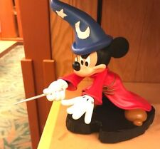 Disney Parks Sorcerer Apprentice Mickey Mouse Light Up Figurine - New