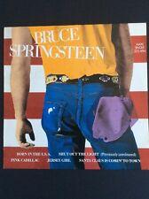 "BRUCE SPRINGSTEEN BORN IN THE USA RARE 12""  PROMO Single 1984 HOLLAND VG/VG"