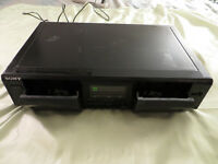 Vintage Sony TC-WE305 Tape Cassette Deck Power / No Play For Parts/Not Working