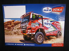 Card Eurol Veka MAN Rally Team 2016 (AK)