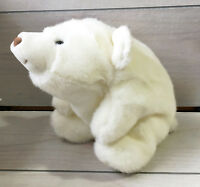 "A90 Vintage Gund White Snuffles Bear Plush! 12"" Stuffed Toy Lovey"