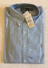 Ralph Lauren Button Down Yarmouth Oxford Shirt BNWT Blue Colour Size XXL