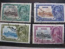 Malta: 1935 Silver Jubilee Set used