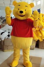 Winnie The Pooh Bear Cartoon Character Mascot Costume Adult Dress Fancy Gift Hot