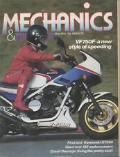 Mech May 83 VF750F Kawasaki GT550 Z550F XJ900 Armstrong CMX Cagiva WMX KTM 125