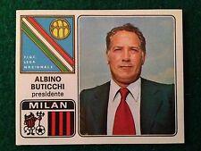 CALCIATORI 1972-73 1973 n 201 MILAN BUTICCHI , Figurina Sticker Panini NEW