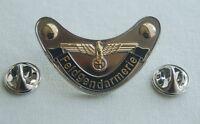 Feldgendarmerie EK Adler Militäry Militaria Pin Button Badge Anstecker # 350