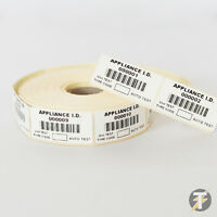 Metrel TEK150 Barcode PAT - Asset Labels for ALL PAT Tester Bar Code Scanners
