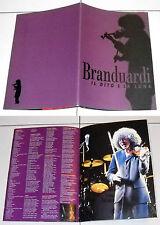 Programma Concerto ANGELO BRANDUARDI Il dito e la luna Programm Konzert 1998