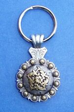 Western Cowgirl Jewelry ~Coloma Gold~ Antique Silver/Gold Concho Key Ring Kit