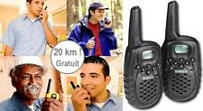 USAGE GRATUIT! SUPER PRATIQUE! UNIDEN ! 2 TALKIE WALKIE VHF UHF PORTEE 20K