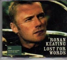 (BJ852) Ronan Keating, Lost For Words - 2003 CD