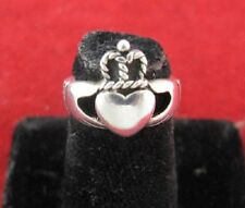 Sterling Silver Claddaugh  Ring - Celtic