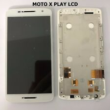 For Motorola Moto X Play xt1562 LCD Touch Screen Display Digitizer White + Frame