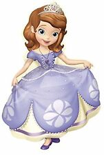 """Sofia The First 35"""" Anagram Balloon Birthday Party Decorations"""
