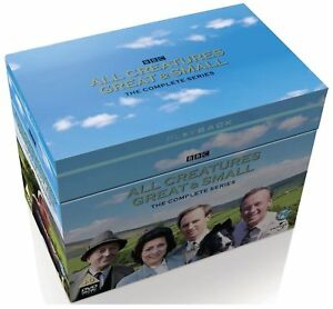 All Creatures Great And Small Complete Series Collection 1-7 UK New Region 2 DVD