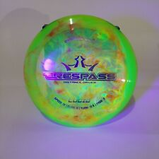 Dynamic Discs Lucid TRESPASS 174G Custom Dye Barely Used Distance Driver No Ink