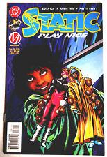 "STATIC  #36:  ""Play Nice"".  June 1996, DC Comics.  Unread."