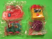 1996-99 McDonalds - Fisher-Price Toddler Toys - Group A - Set of 4 *MIP*