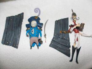 "2-2005 McFarlane Toys, Corpse Bride,General Dwarf & Wellington Loose 6"" figures"