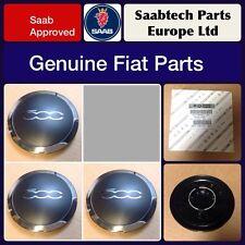 set da 4/pezzi,/5908862 Coppe coprimozzo originali Abarth per Fiat 500