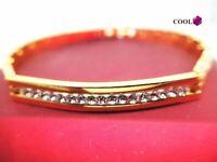 Armband aus 18 Karat Gelbgold mit Diamanten