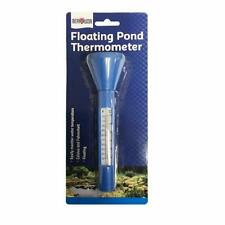 More details for pond floating thermometer for pond swimming pool hot tub with cord to anchor