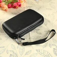 "2.5"" inch Portable External Flannelette Hard Disk Drive Pouch Case Cover Black"