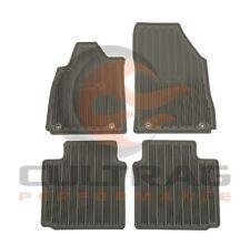 2014-2018 Impala GM Front & Rear All Weather Floor Mats Dark Titanium 23238785