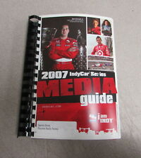 2007 IndyCar Series Book Media Guide Auto Indy Racing