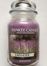 Yankee Candle LAVENDER 22 OZ LARGE JAR HTF AROMATHERAPY SCENT
