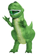 Toy Story 4 - Rex Inflatable Child Costume - Dinosaur