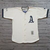 Vintage Rare 90s Philadelphia Athletics Wool Jersey by Starter M Oakland A's