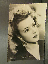 cpa photo actrice comedienne micheline presles