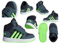 Scarpe da bambino bimbo alte Adidas infant sportive ginnastica a strappo scuola