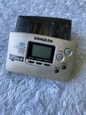 Sangean DT110 AM/FM Stereo Pocket Radio Discovery Channel Edition, Working.